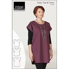 Tunic Patterns Simple Indygo Junction Easy Top Tunic Sewing Pattern Girl Charlee