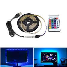 <b>5V USB</b> Power <b>LED</b> Strip light <b>RGB</b> /White/Warm White 2835 3528 ...