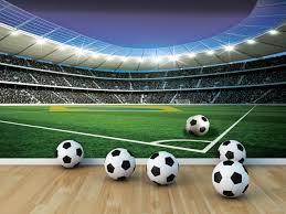 Voetbal Fotobehang 1914p8 Fotobehangkoopjesnl