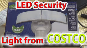 Ring Security Light Costco Led Security Light From Costco 2018 Review