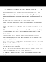 Twelve Traditions Of Na Aa Na Addictions Sayings Quotes