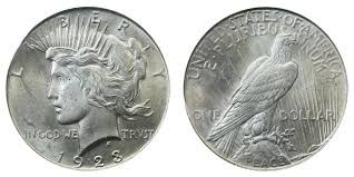 1923 Peace Silver Dollar Coin Value Prices Photos Info