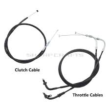<b>Motorcycle</b> Steel Throttle Cables <b>Line</b> & <b>Clutch Cable Wire</b> Kits For ...