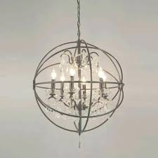 wrought iron crystal orb chandelier chandeliers crystal orb chandelier elegant crystal orb chandelier wire sphere crystal