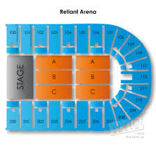 Reliant Arena Houston Seating Chart