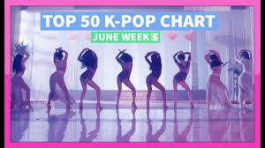 Top 5 Chart Songs Top 50 K Pop Songs Chart June 2016 Week 5