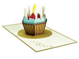 Birthday Cake 3d Creative Pop Up Card Creative Popcards