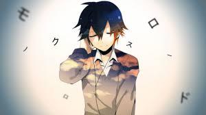 anime guy headphones wallpaper. HD Background School Days Anime Series Guy Headphone Wallpaper In Headphones
