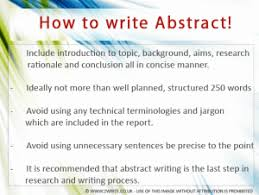 how to write abstract essay report writing help write how to write abstract in essays and reports