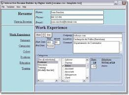 free cv maker software