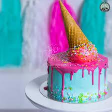 Birthday Ice Cream Cone Halal Birthday Cake Party Wholesale Singapore