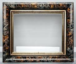 8x10 frame white picture frames faux alligator middle frame gilded sight tortoise outside i have never seen a design before this