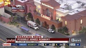 Hotel Silver Seven Possible Armed Robbery At Silver Sevens Youtube