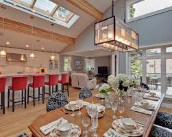 Simple Open Kitchen Dining Room Designs To Houzz For Perfect Ideas