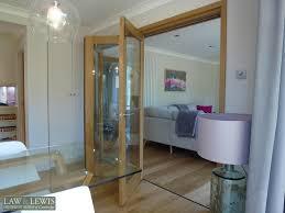 oak internal bifold doors law lewis of cambridge ltd 4 jpg