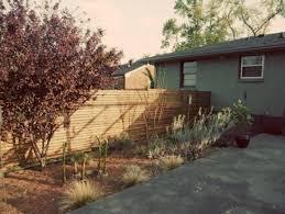 diy mid century modern fence