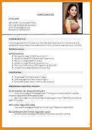 Standard Format For Resume Pdf Format Resume Anekdotru Info