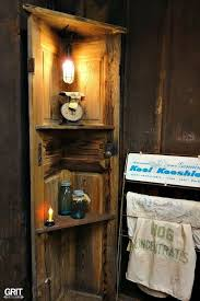 cut an old door in half for awesome storage door shelves wood projects and repurposing