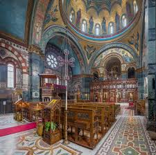 Greek Orthodox Church Design File St Sophias Greek Orthodox Cathedral Interior 1 London