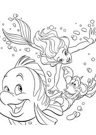 Ariel Disney Coloring Pages For Kids Disney Coloring Pages