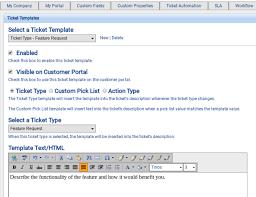 Ticket Templates Customer Support Software Documentation 1