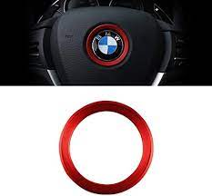 Amazon Com Carfib For Bmw Accessories Steering Wheel Emblem Logo Caps Decals Stickers Parts 2 3 5 7 X1 X2 X3 X5 X6 X7 Series Covers Badge Car Interior Inside Decoration Kit Trim