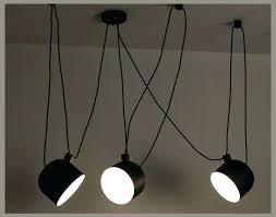 black drum light fixture hanging personality spider pendant lamp shade modern adjule