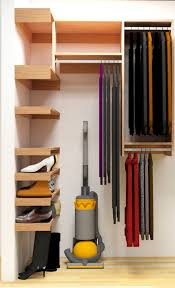 finally i think i ve come up with a design that allows the closet to be used to it s full potential the design consists of shelves on the left wall for