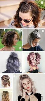5 Minute Hairstyles For Girls 25 Best Ideas About Easy Short Hairstyles On Pinterest