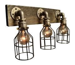 home decor bathroom lighting fixtures. Vanity Light - Home Lighting Fixture Bathroom House  Living Edison Bulb Lamp Decor Wood Fixtures