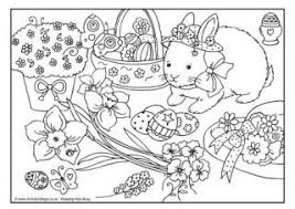 Small Picture Easter Colouring Pages