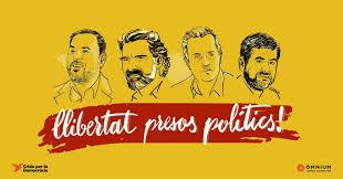 Resultat d'imatges de llibertat presos polítics