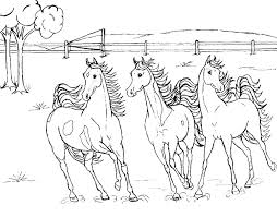 Horse Coloring Page Rocking Horse Coloring Pages Printable Coloring