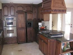 kitchen staining cabinets before and after pure white granite countertops hardwood flooring decor double handle lavatory