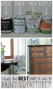 Best Type Of Paint For Painting Furniture |  Chalk R