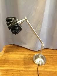 Diy Lamp Tutorial Rockin Desk Lamp Upcycled Vinyl Record Old Desk Lamp