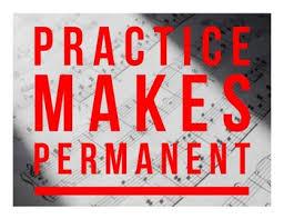 Practice Makes Permanent by Miss H McG | Teachers Pay Teachers