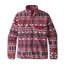 Patagonia Patterned Fleece Amazing Fleece Outerwear Outdoor Winter Fleece By Patagonia