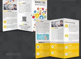 Tri Fold Samples Creative Tri Fold Brochure Design Templates Entheosweb