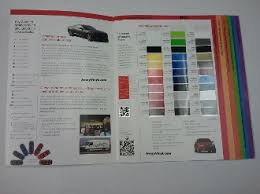 Avery Vinyl Color Chart Color Selector