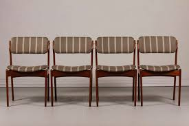 purple dining room chairs luxury mid century od 49 teak dining chairs by erik buch for
