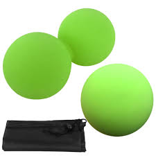 Buy Generic-Massage Balls <b>Set</b> Double <b>Peanut Ball Fascial</b> Ball ...