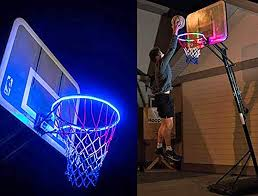 Basketball Hoop Led Light Amazon Com Awesomemall Led Basketball Hoop Lights