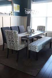 fabric needed for dining room chairs. dining room table with bench and chairs home-sweet-home fabric needed for