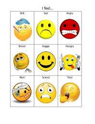 Feelings Chart Emotion Chart For Expressing Feelings