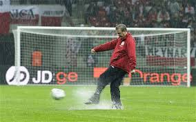 Image result for photos of famous footballers in the rain