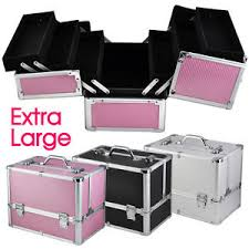image is loading make up box extra large e storage nail