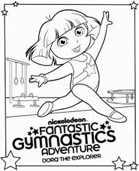 refundable gymnastics coloring pages mens for kids balance beam page