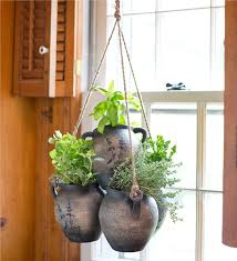 Main image for Hanging Clay Herb Planter Kit