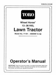 toro manual Toro Wheel Horse Wiring Diagram Toro Wheel Horse Wiring Diagram #38 toro wheel horse 14-38 wiring diagram